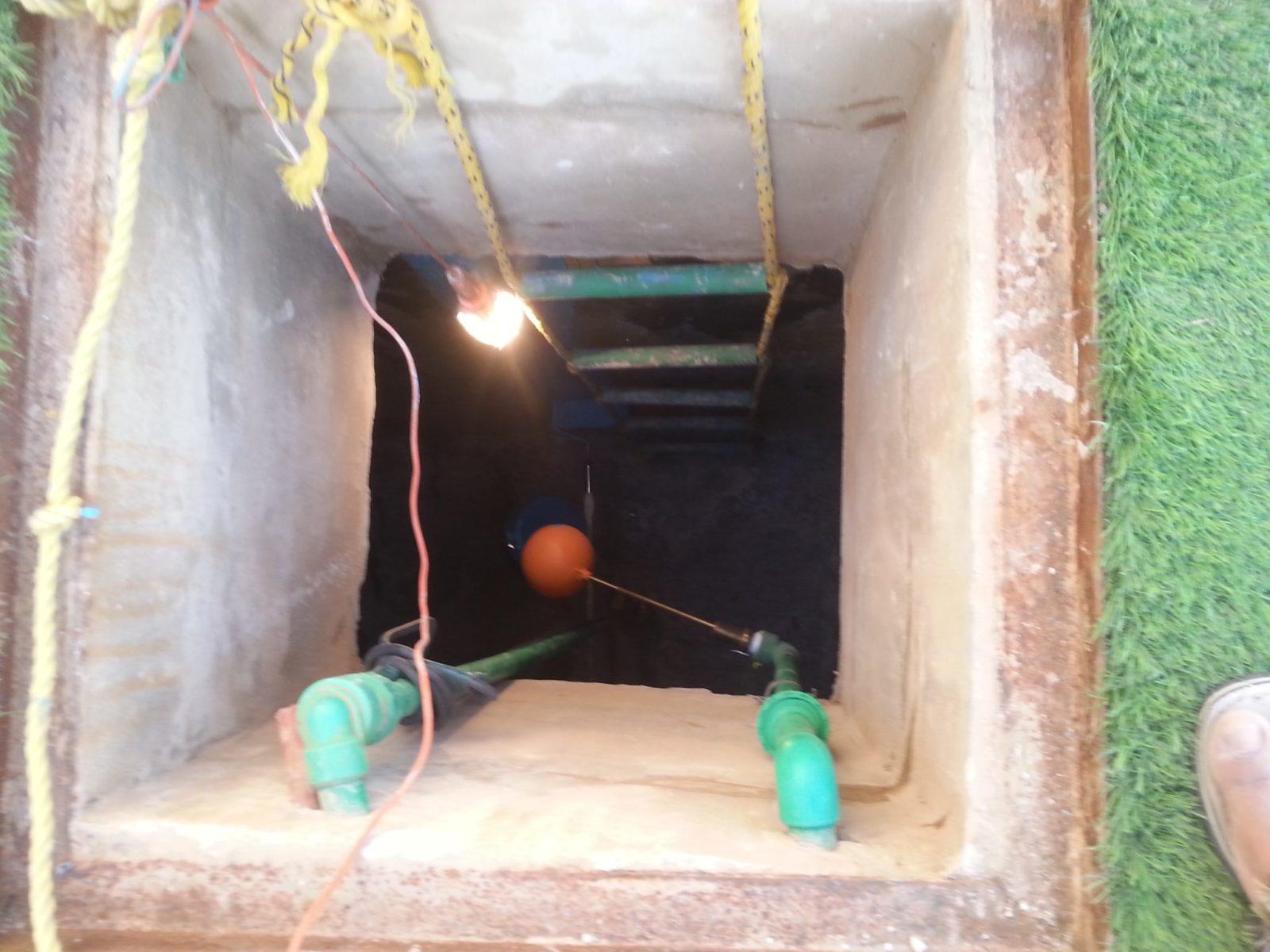 كشف واصلاح تسربات المياه في الخزانات او الخزان الارضي 0555717947