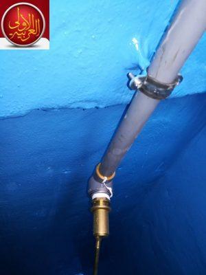 كشف واصلاح تسربات الخزانات بمكه عزل خزانات المياه بمكه
