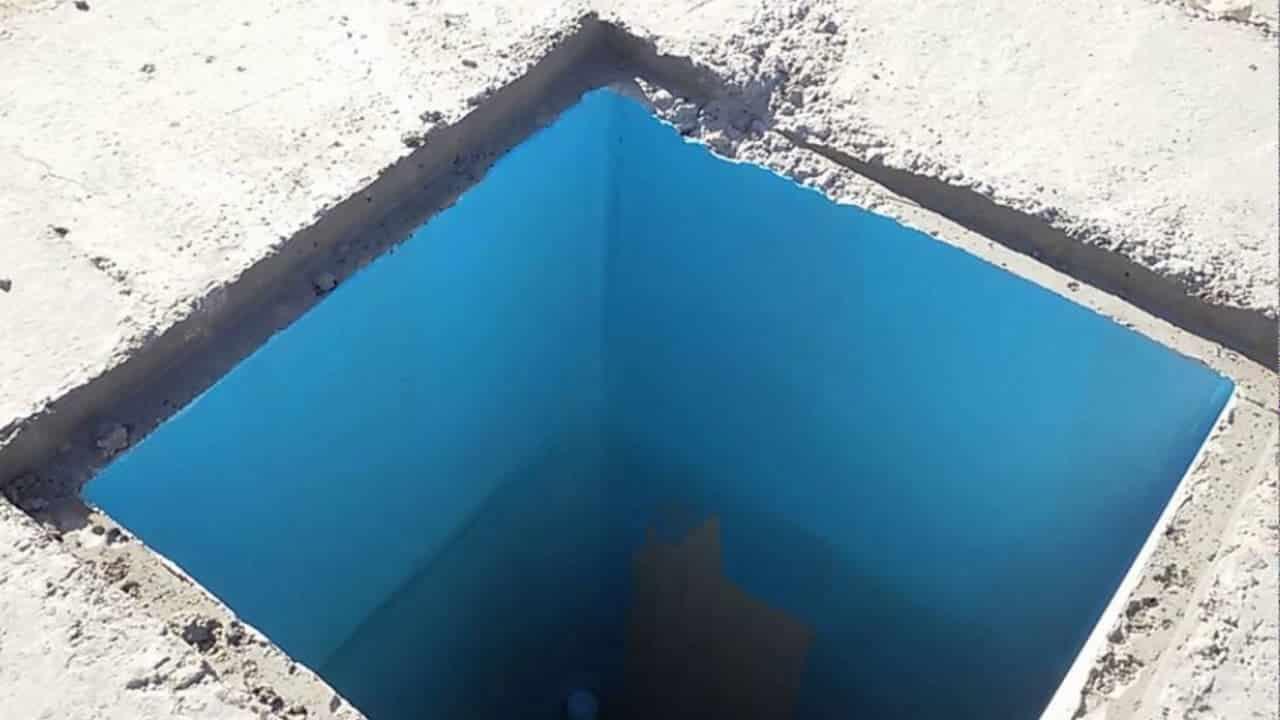 عزل الخزانات الأرضية باستخدام مادة الايبوكسي