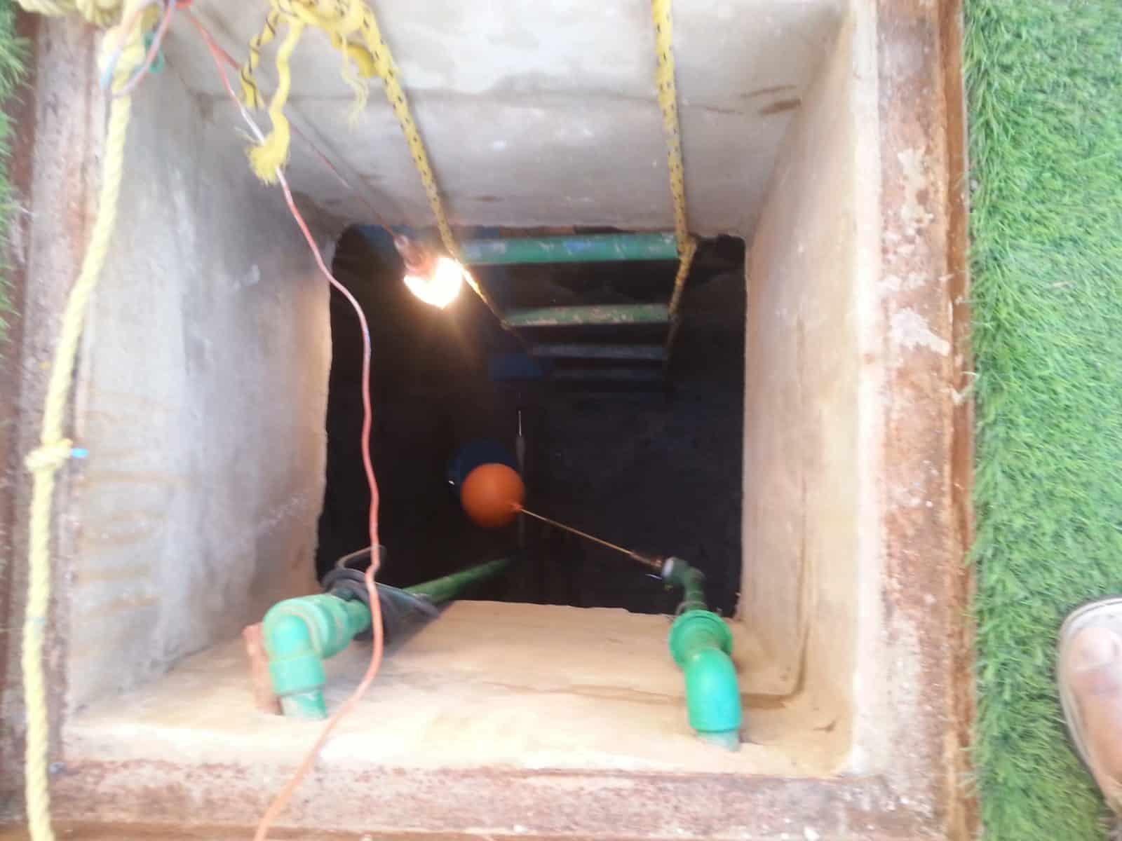 كشف واصلاح تسربات المياه في الخزانات او الخزان الارضي