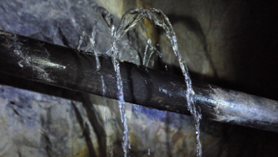 صورة اسباب وحل مشكلة تسربات الصرف الصحي 0555717947