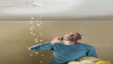 صورة حل مشكلة تسربات المياه من السقف بعد الصبة وعلاجها 0555717947
