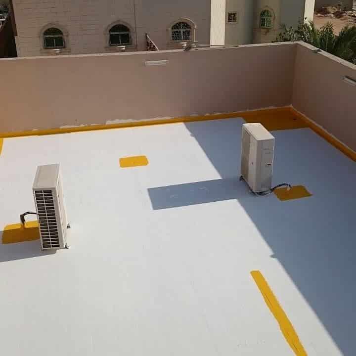 ل مشكلة تسربات المياه من السقف بعد الصبة وعلاجها
