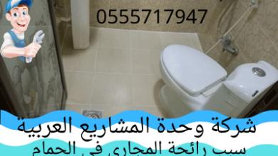 صورة سبب رائحة المجاري في الحمام والتخلص منها