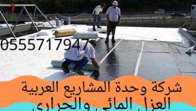 Photo of العزل المائي والعزل الحراري للسطح والأسقف بخصم 30% 0555717947