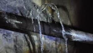 تهريب المياه من الخزان السطح السقف الحمام