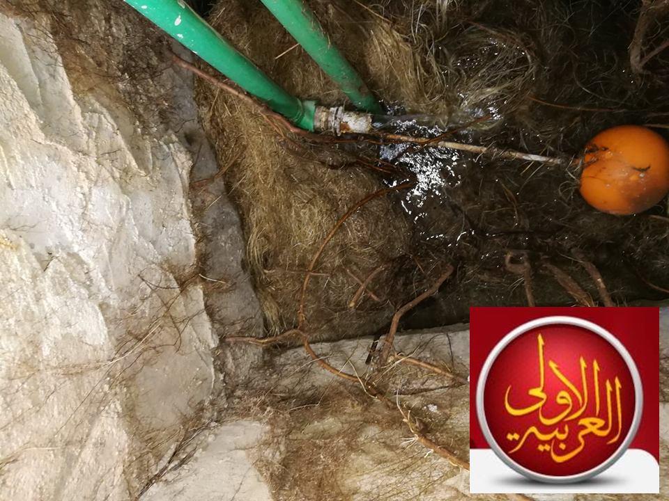 ما هي الوسائل التي يمكن اجرائها لمعالجة الشقوق في خزانات المياه الخرسانية وخصوصًا أنها تكون تحت الارض؟